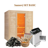 Sentiotec fínska sauna SET BASIC LARGE